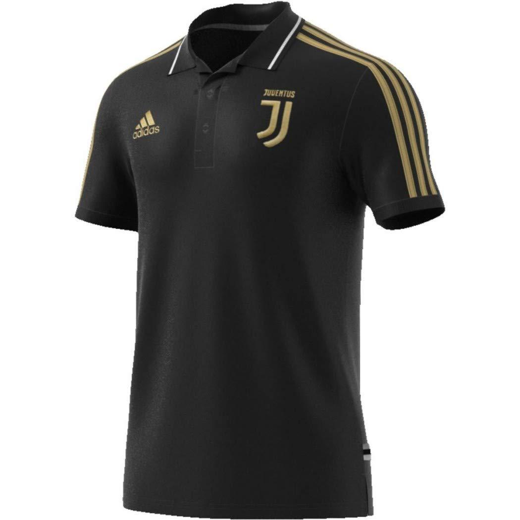 6ad0f1512 Amazon.com  adidas Juventus Black   Gold Polo 2018-2019  Clothing