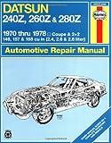 Datsun 240Z/260Z Owner's Workshop Manual (USA service & repair manuals)