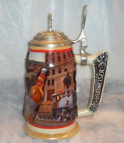 Budweiser Anheuser-Busch Collectors Club Members Only Stein 1999