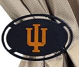 Henson Metal Works 5000-8 Indiana Univ logo Curtain Tieback Set