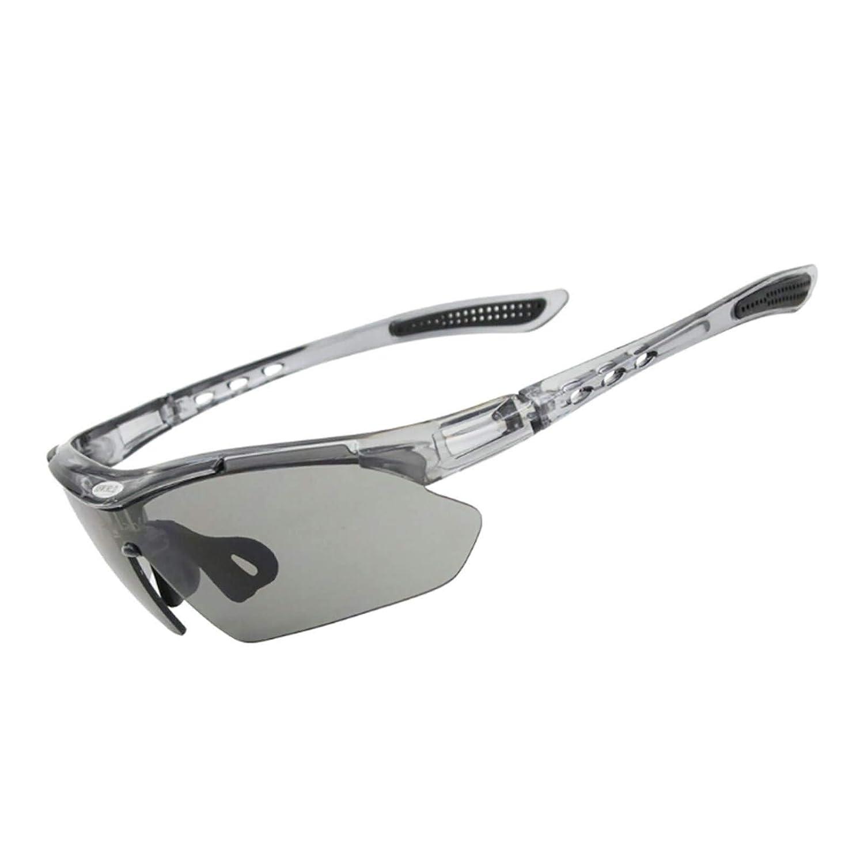 Beydodo Schutzbrille Schie/ßsport Sportbrille Nacht Sonnenbrille Schutzbrille zum Schie/ßen Blau Grau