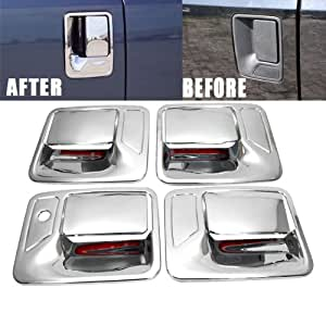 Amazon Com Chrome Door Handle Cover Set For Ford F250