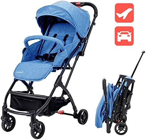 Lightweight Baby Stroller for Toddler Travel, Portable Airplane Travel Carry On Strollers,Folding Umbrella Pram