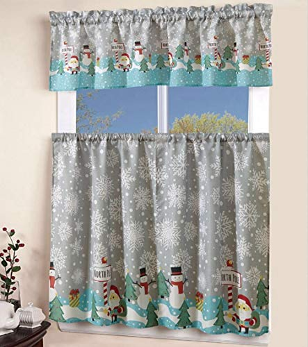 printed floral kitchen cafe curtain