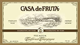 Casa de Fruta California Champagne 750 Ml