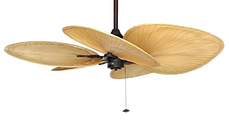 CASA BRUNO ventilador de techo Islander Palma - edición ...