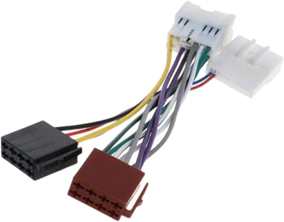 Gazechimp Iso Wiring Harness Stereo Radio Plug Wire Connector