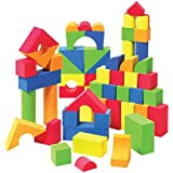 Liberty Imports Creative Educational EVA Foam Building Blocks - 131 Pcs