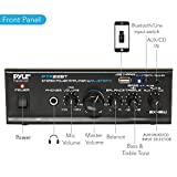 PYLE PTA22BT 2 x 40W Bluetooth Mini Blue Series Stereo Power Amplifier