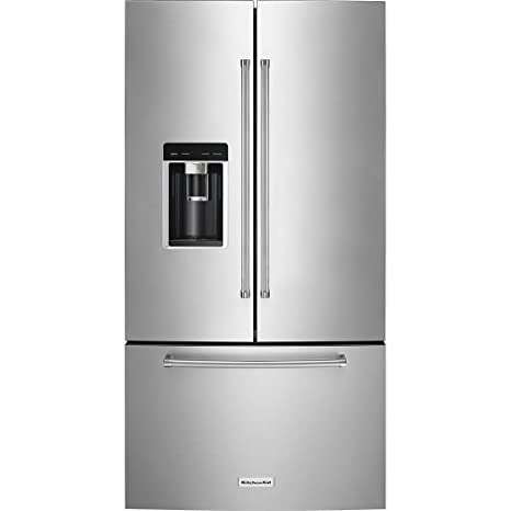 Amazon.com: KitchenAid 23,8 CU. FT. Acero inoxidable counter ...