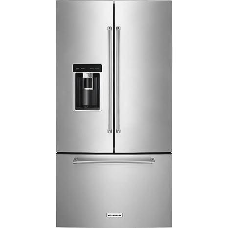 Amazon.com: KitchenAid 23,8 CU. FT. Acero inoxidable counter ...
