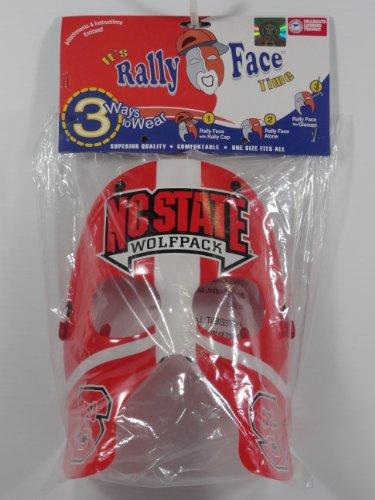 NEW NCAA North Carolina State Wolfpack Rally Face Mask NIB NR