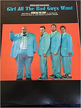 girl all the bad guys want recorded by bowling for soup original sheet music edition