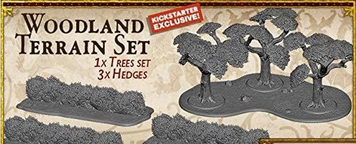 A Song of Ice & Fire Miniatures Game: Woodland Terrain Set (Kickstarter Exclusive)