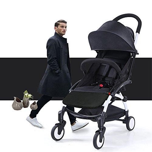 Stroller Footrest 6.5 inch longer Accessories for Baby stroller /Yoyo/Yoya /Babytime/ VOVO /Babythrone /Feet Extension Infant Pram Foot board (Black) by Karleksliv (Image #7)