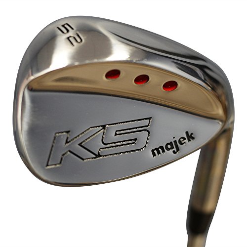 Majek Golf Senior Ladies Gap Wedge (GW) 52° Right Handed Ladies Flex Steel Shaft with Premium Tacki-Mac Arthritic Ladies Golf Grip by Majek Golf
