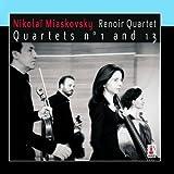 Nikola?? Miaskovsky - Quartets n?? 1 and 13 by Renoir Quartet
