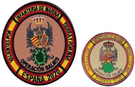 Gemelolandia Pack Pin y Parche Operación Balmis 2020 Bripac ...