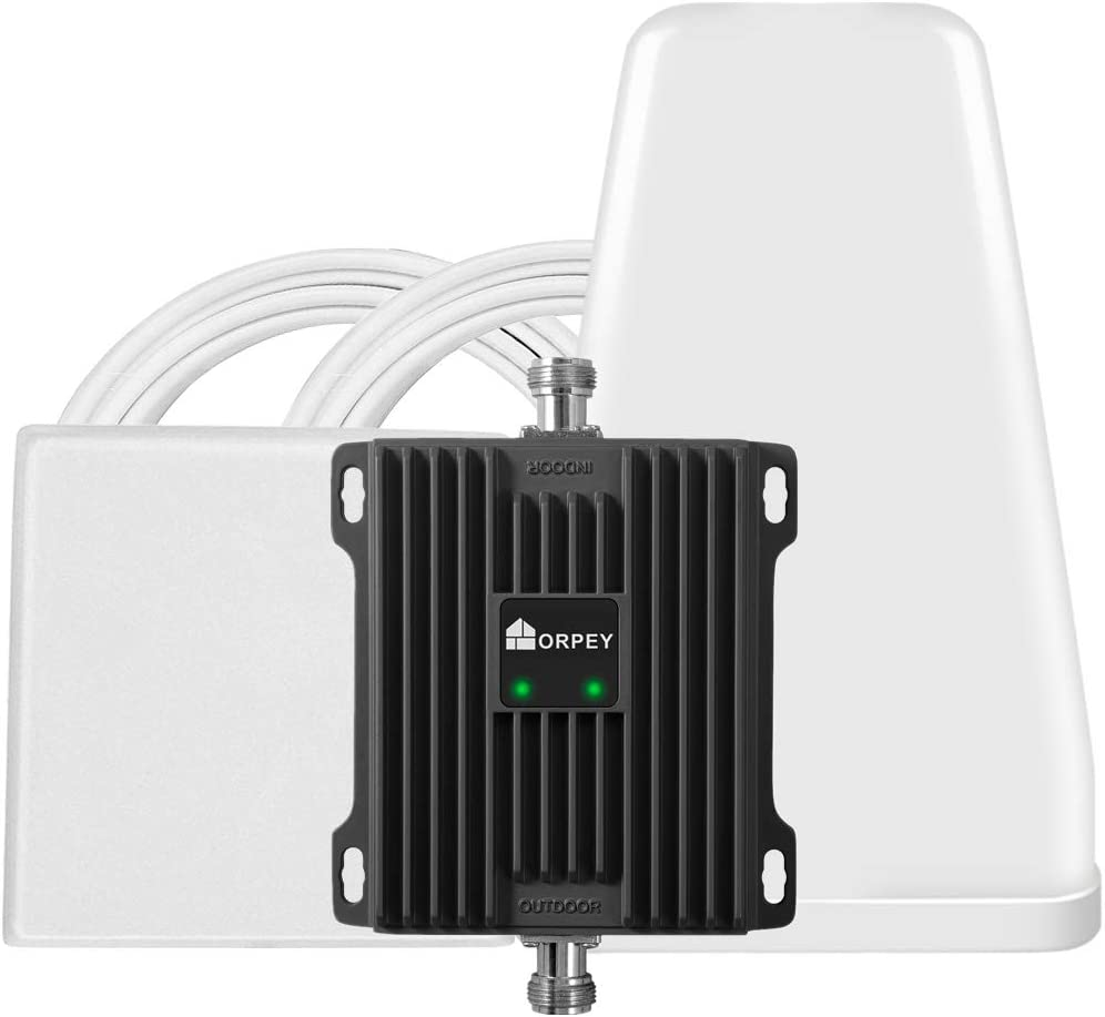 Cell Phone Booster Repeater for Home and Office - Works with AT&T, Verizon and T-Mobile 700MHz Band 12/13/17 - Improve 4G LTE Data Signal and Voice Over LTE