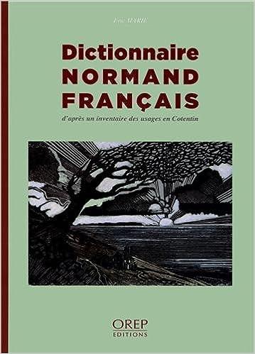 Dictionnaire normand-français