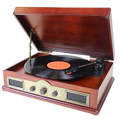 Craig Electronics CD695 Craig Cd695 Turntable System 4 In 1