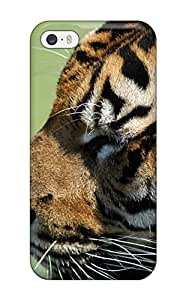 First-class Case Cover For Iphone 5/5s Dual Protection Cover Tiger Picture