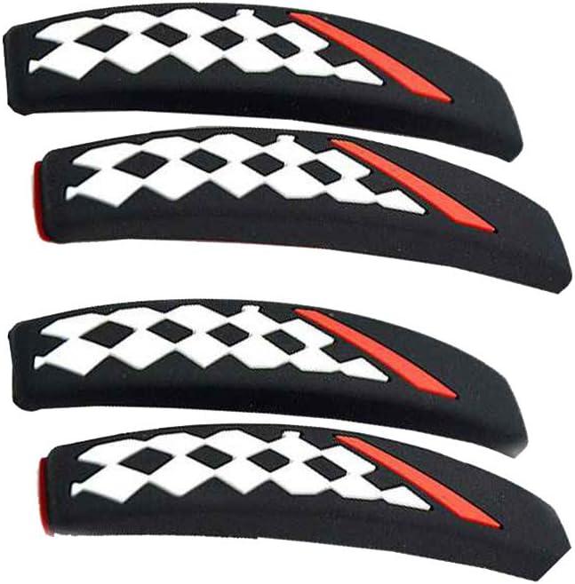 Patpan 4PCS//Set Car Door Edge Anti-collision Strip Waterproof Durable Door Edge Scratch-proof Strip Type 3