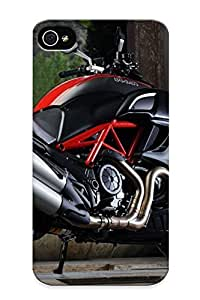 Blackducks Premium Ducati Diavel Heavy-duty Protection Design Case For Iphone 4/4s
