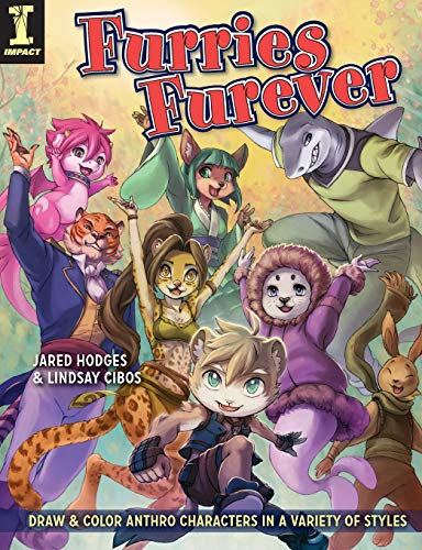 (Furries Furever: Draw and Color Anthro Characters in a Variety of)