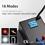 16 in 1 Oi Flash Strobe Controller Flasher Module LED Brake Stop Hazard Light Alert Relay Indicator Turn Signals