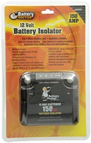 WirthCo 20092 Battery Doctor 125 Amp//150 Amp Battery Isolator