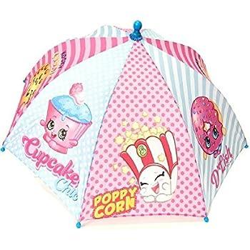 Shopkins Kids Umbrella Girls Parasol Paraguas - blue