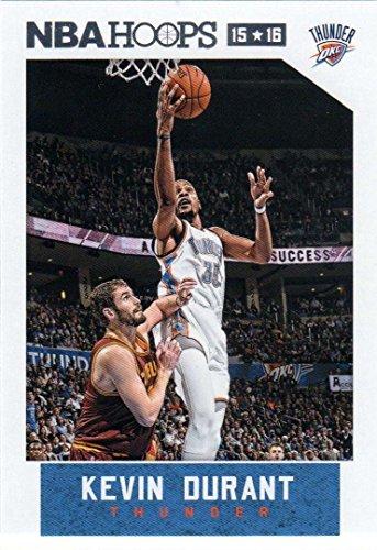Kevin Durant 2015 2016 Hoops NBA Basketball Series Mint Card 92 M (Mint)