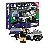 MLB Colorado Rockies Buildable Ballpark Cart, Small, White