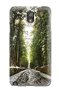 Hot Snap-on Old Forest After Snow Melt Digital Hard Cover Case/ Protective Case For Galaxy Note 3