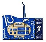 Team Sports America NFL Indianapolis Colts Scoreboard Polystone Ornament, Small, Multicolored