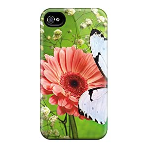 Shock-Absorbing Hard Cell-phone Case For Iphone 6 (sjB20201vWxI) Provide Private Custom High-definition Butterfly Image