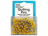Collins Quilting Pins 1.75'' Yellow Head 250pc
