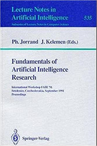 Fundamentals of Artificial Intelligence Research: