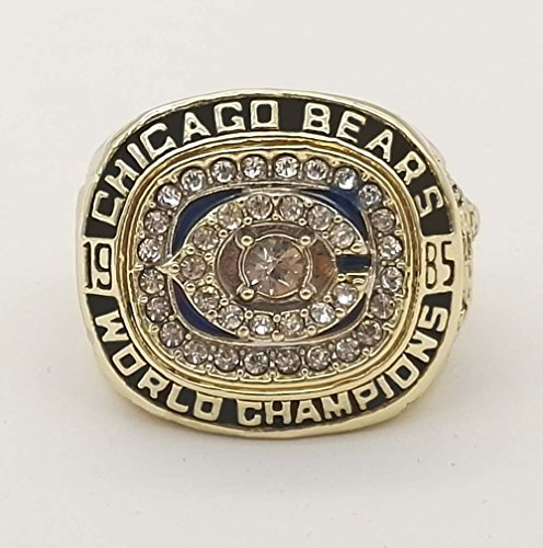 AMOH JERCY Chicago Bears Superbowl XX 1985 Ring William Perry (Perry, 11)