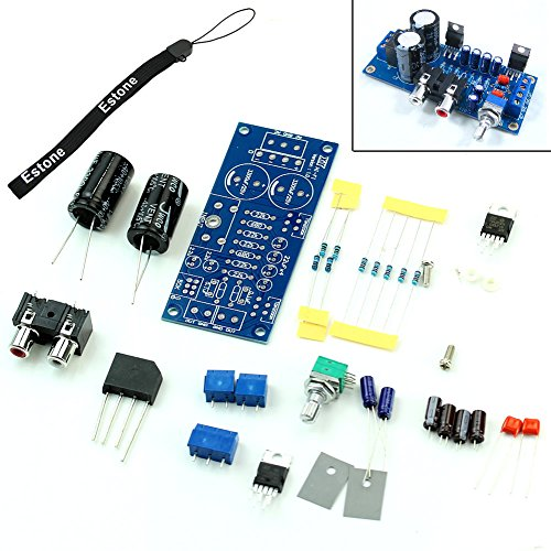 Estone New TDA2030A Audio Power Amplifier DIY Kit Components OCL 18W x 2 BTL 36W
