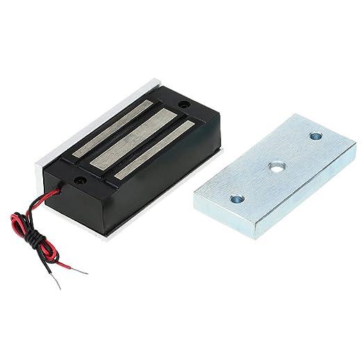 14 opinioni per KKmoon Magnetica Elettromagnetica NC 12V Serratura 60KG (132 LB) Fallire Sicuro