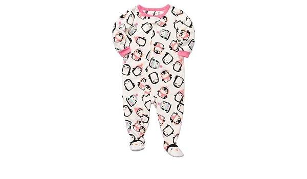 Las niñas de forro polar pijama de Carter (24 meses, Penguin) color: pingüino tamaño: 24 Meses (Baby/Babe/Infant - Little Ones): Amazon.es: Bebé