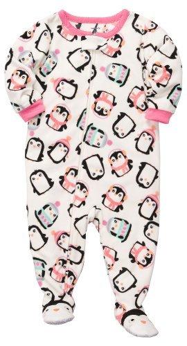 Las niñas de forro polar pijama de Carter (24 meses, Penguin) color: