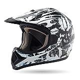 Sigi Fearless Motocross Helmet Inked, Large/X-Large - SIGI FEARLESS CX L/XL