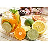AMYHY Jigsaw Puzzle Toys, 300/500/1000/1500/2000/3000 Pieces Jigsaws Puzzles, Wooden Assembling Games Educational Toys, Family Funny Puzzle Games, Orange Juice (Size : 1000pieces)