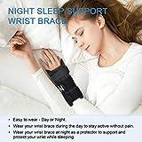 Carpal Tunnel Wrist Brace, Night Sleep Both Hands