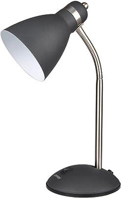 Flexible desk lamp black amazon lepower metal desk lamp flexible goose neck table lamp eye caring study lamps aloadofball Choice Image