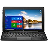 Bit W11046APB CORE+ Windows 10 detachable PC, Cherry Trail CPU, 4GB RAM 64GB storage, HD touchscreen, 11.6, Black
