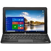 Bit W11046APB CORE+ Windows 10 detachable PC, Cherry Trail CPU, 4GB RAM 64GB storage, HD touchscreen, 11.6, Black